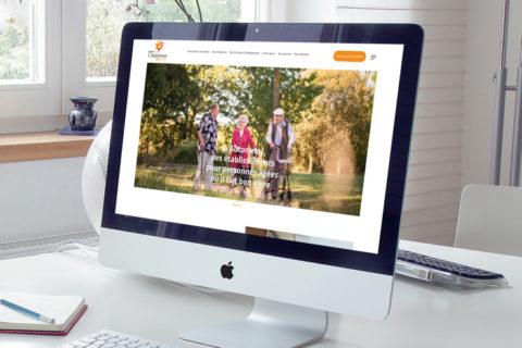 Automne, nouveau site web